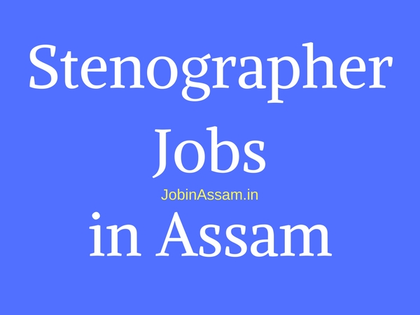 Stenographer Jobs in Assam