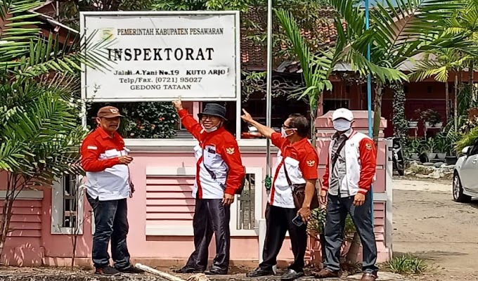 LIRA Pesawaran: Soal PHP Desa Way Urang, Inspektorat Pesawaran Diduga Saling Lempar Permasalahan