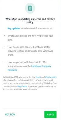 تحديث صادم واتسآب - WhatsApp يفاجئ الجميع بهذه الرسالة اليوم