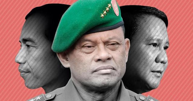 Jenderal Gatot di Nilai Berbahaya Bagi Prabowo, Ini Sebabnya..