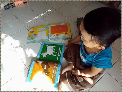 perkenalkan buku pada anak sejak dini