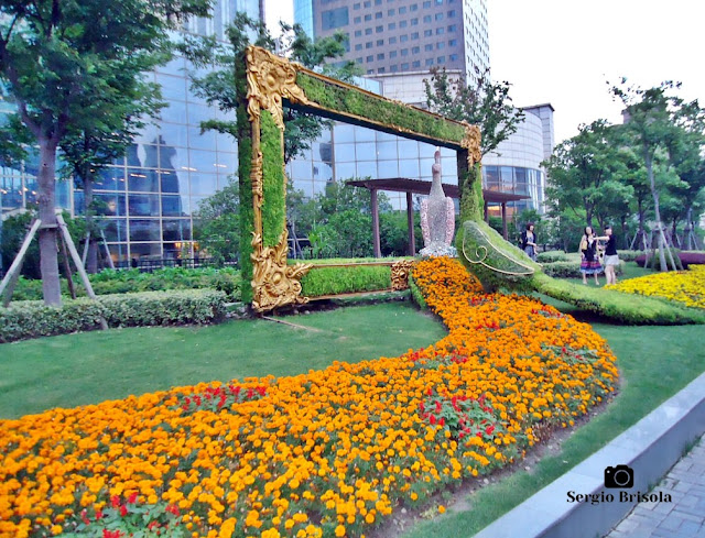 Shanghai People's Square Garden