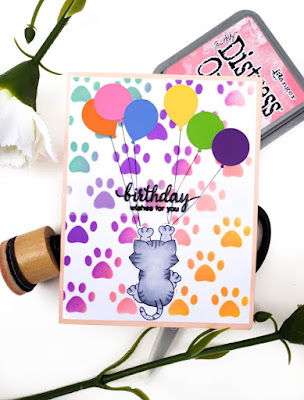 Birthday wishes for you by Elle Kay features Naughty Newton by Newton's Nook Designs; #newtonsnook