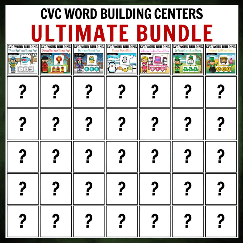 GROWING Ultimate CVC Word Building BUNDLE PACK