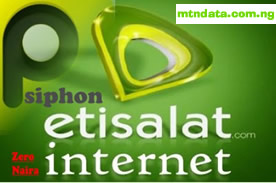 HOT!!! ETISALAT UNLIMITED FREE BROWSING WITH PSIPHON & SIMPLE SERVER