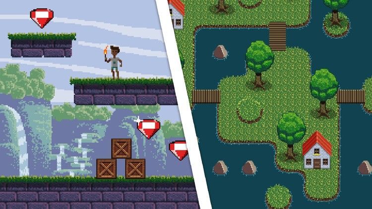 Learn Professional Pixel Art & Animation for Games - Coupon