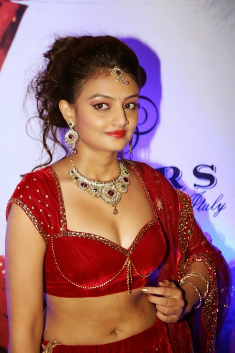Honey Glitz Nikita Narayan Hot Cleavage And Sexy Navel -4296