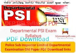 Dep PSI exams Paper PDF download here,Dep PSI Syllabus Pdf,Departmental-PSI-Exam- Syllabus 2021,mpsc Exam,MPSC Material online PDF,psi mains question paper 2011pdf download,