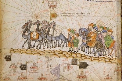 Caravan on the Silk Road, 1380