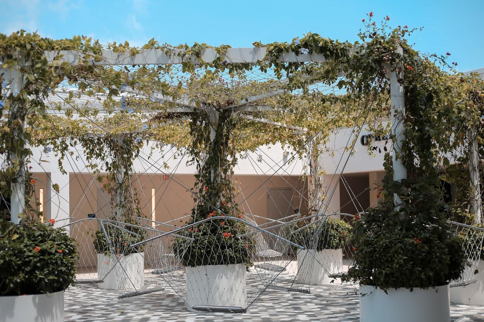Miami Design District Swing Garden