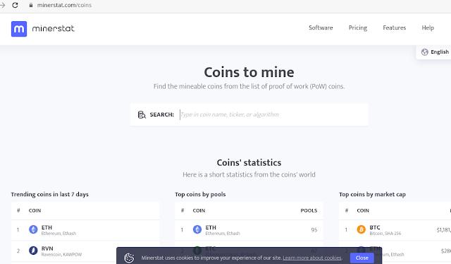 memilih software untuk mining bitcoin eth etc rvn ergo