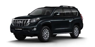 Toyota Land Cruiser Prado facelift version
