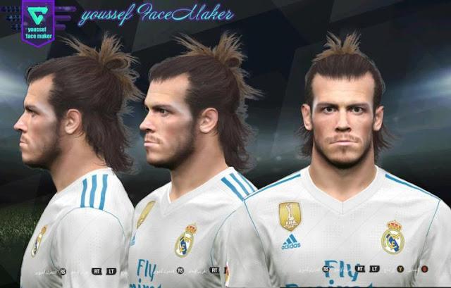 Gareth Bale Face PES 2017
