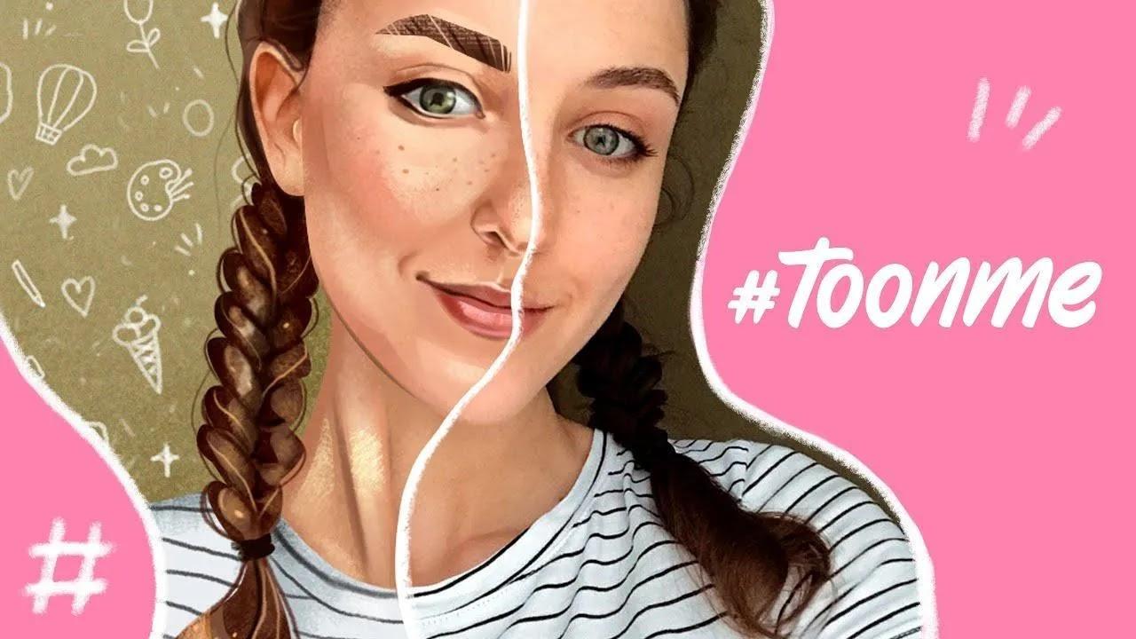 ToonMeاحصل على إعادة رسم صورتك بأسلوب كرتوني أو متجه تلقائيًا باستخدام سحر الذكاء الاصطناعي في ToonMe