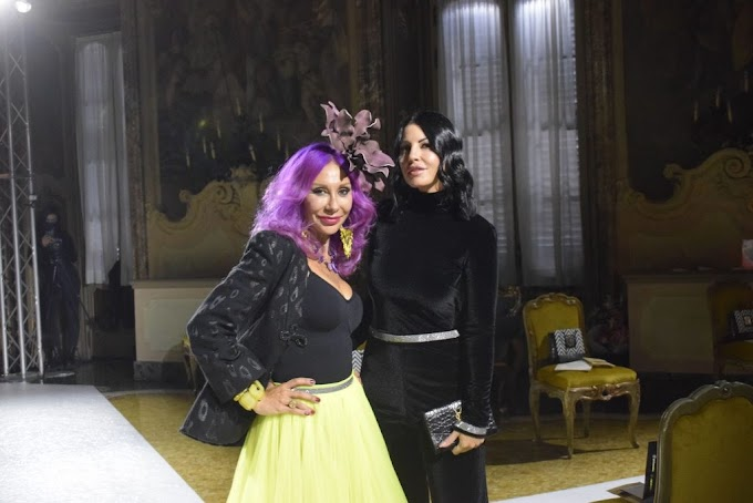 """Alla Milano Fashion Week la sfilata degli """"Emerging Talents"""" con il trucco di Valeria Orlando"""