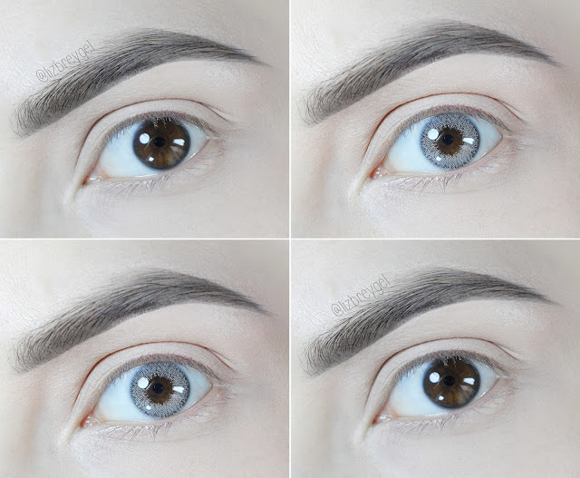 bjd doll eyes liz breygel makeup circle lenses lens colored lens review before after pictures eye surgery