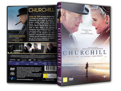 Capa DVD Churchill [Exclusiva]