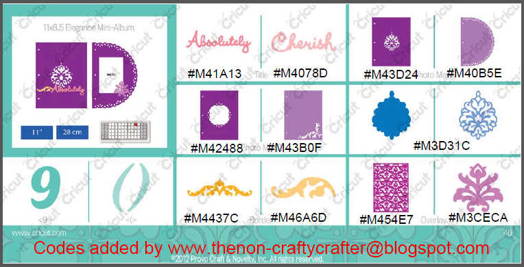 Cricut Explore Design Space Image Codes