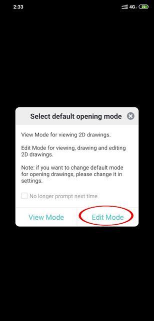 Membuka file dwg autocad menggunakan android