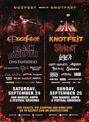 Ozzfest - Knotfest - 2016