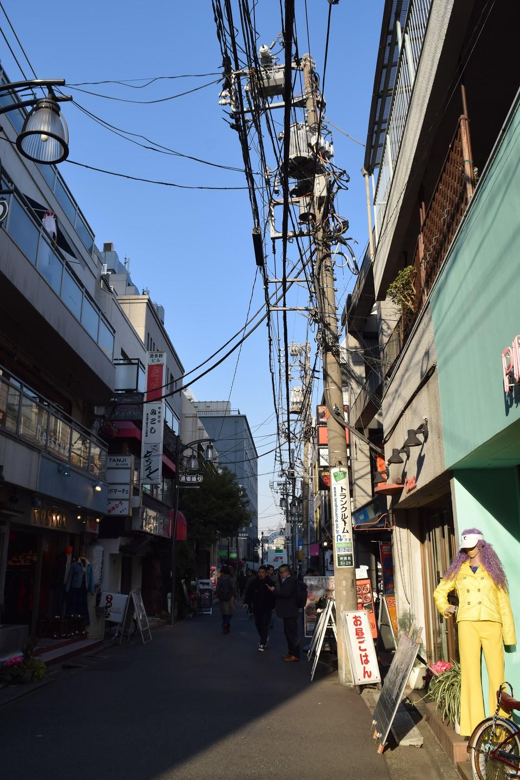 Harajuku street Tokyo