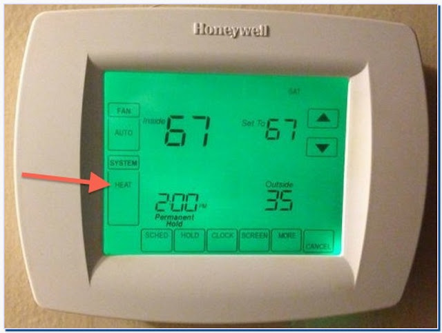 Thermostats for Heat Pmps With Auxiliary Heat