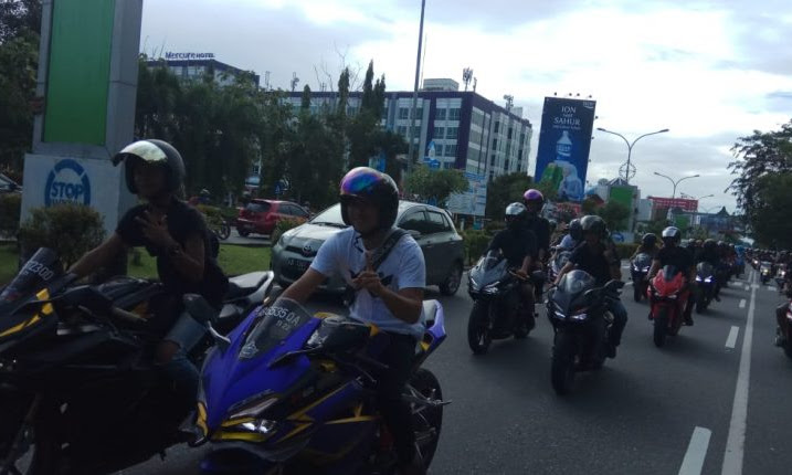 Mempererat Silahturahmi Bikers pada Event CBR Hub Cafe & Joy Ride
