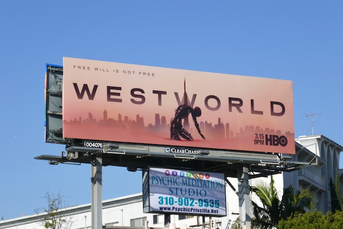 Westworld season 3 billboard