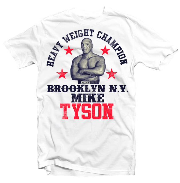 mike tyson tshirt design