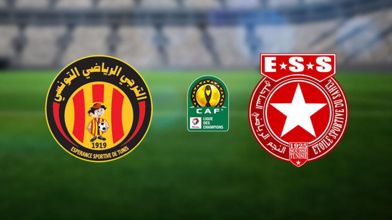 مباراة الترجي التونسي والنجم الساحلي