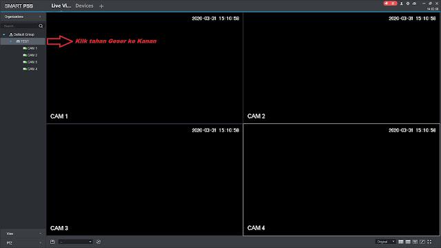 Cara setting online CCTV dahua di komputer