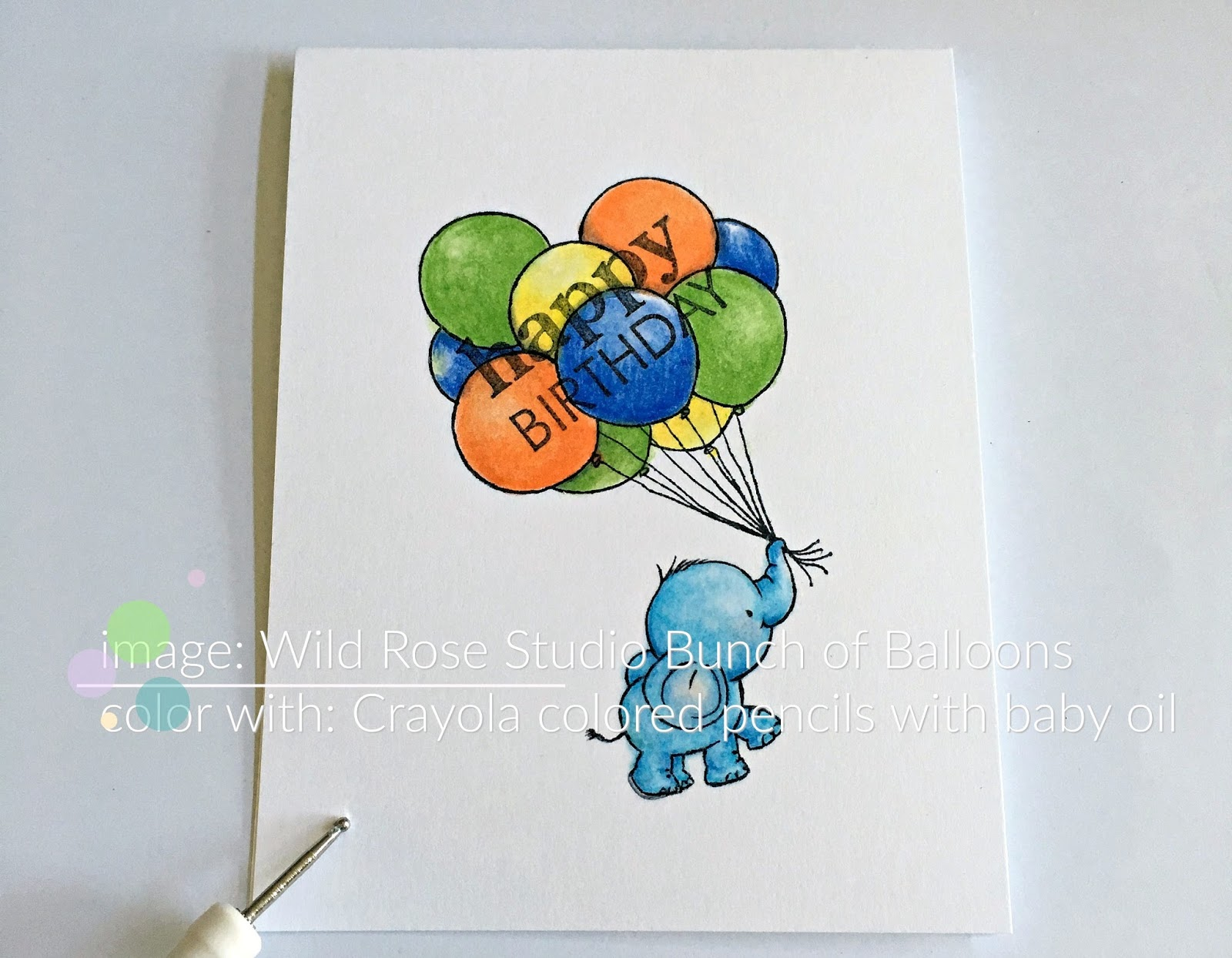 wild rose studio bunch of balloons
