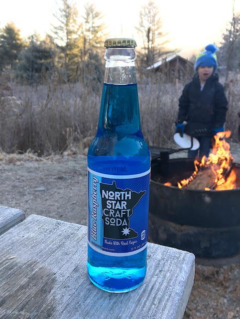 North Star Blue Raspberry Soda