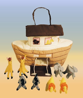softoys noah's ark bag