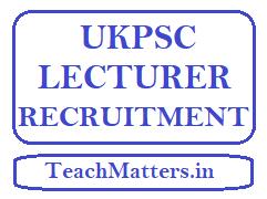 image: UKPSC Lecturer Recruitment @ TeachMatters