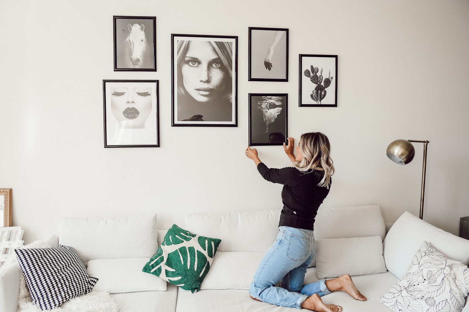 Gallery Wall Art Inspo - @taylorwinkelmeyer