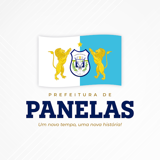 NOVA MARCA: Prefeitura de Panelas. Um novo tempo, uma nova história!