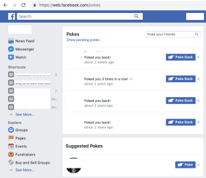 Facebook Poke - How to Poke Someone on Facebook Step By Step