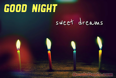 Good night images with candles