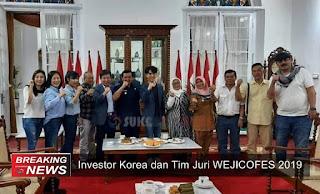 Investor Korea dan Tim Juri WEJICOFES 2019