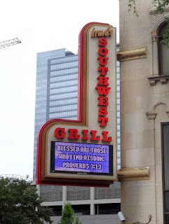 Irma's Southwest Grill (signage at Great Southwest Building)