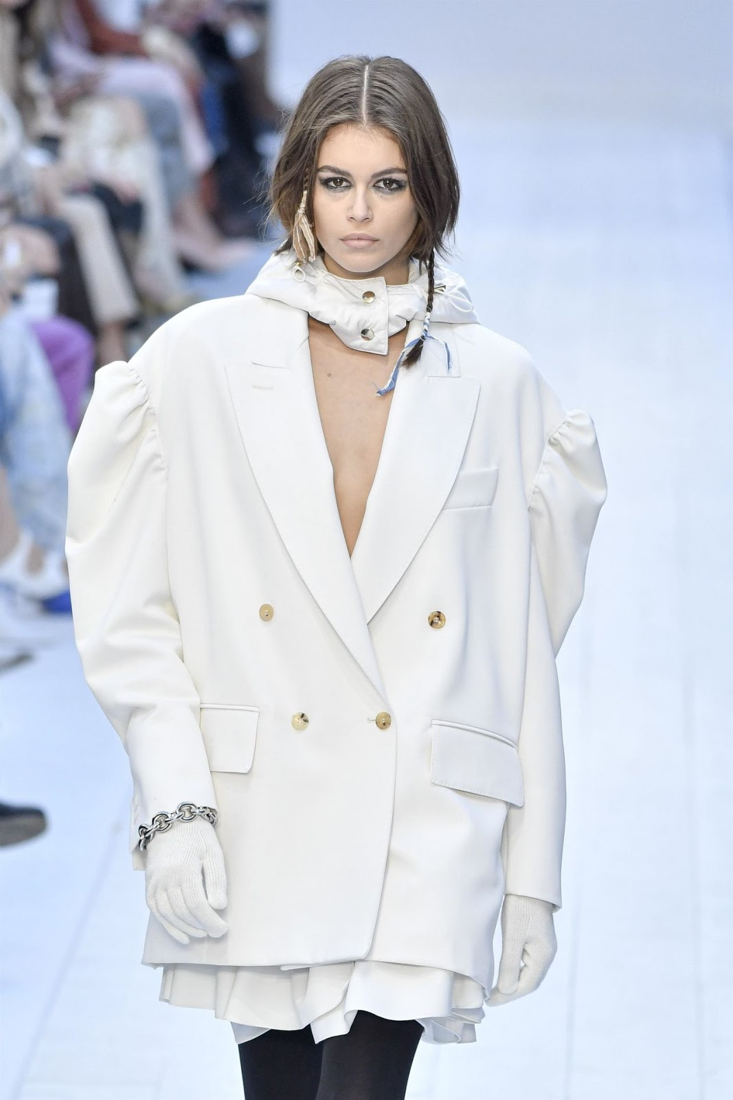 kaia Gerber - Milan Fashion Week FW 2020