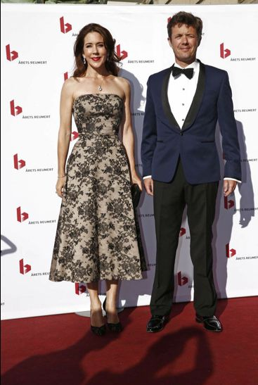 Crown Prince Frederik and Crown Princess Mary attended the annual