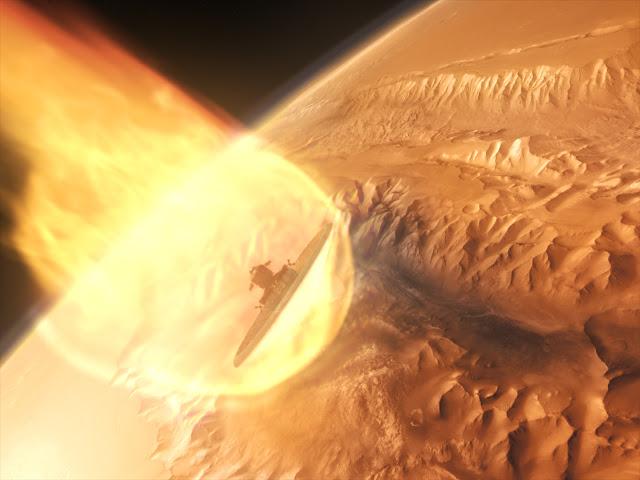 Journey to Space image - Mars LDSD heat shield