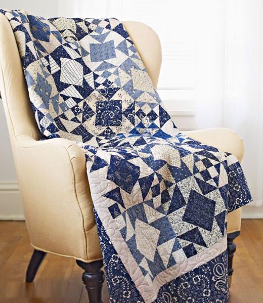 Winter Wonder Quilt Free Pattern