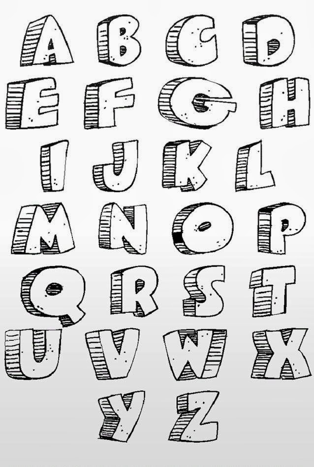 Make Your Own Cool Graffiti Letters | Best Graffitianz