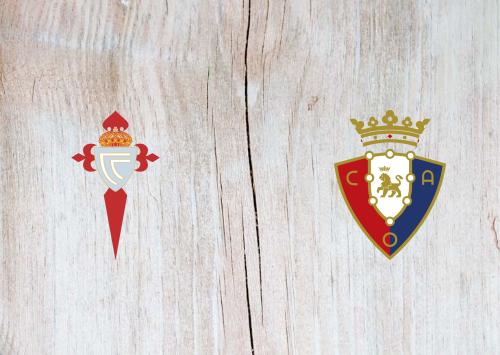 Celta Vigo vs Osasuna -Highlights 5 January 2020