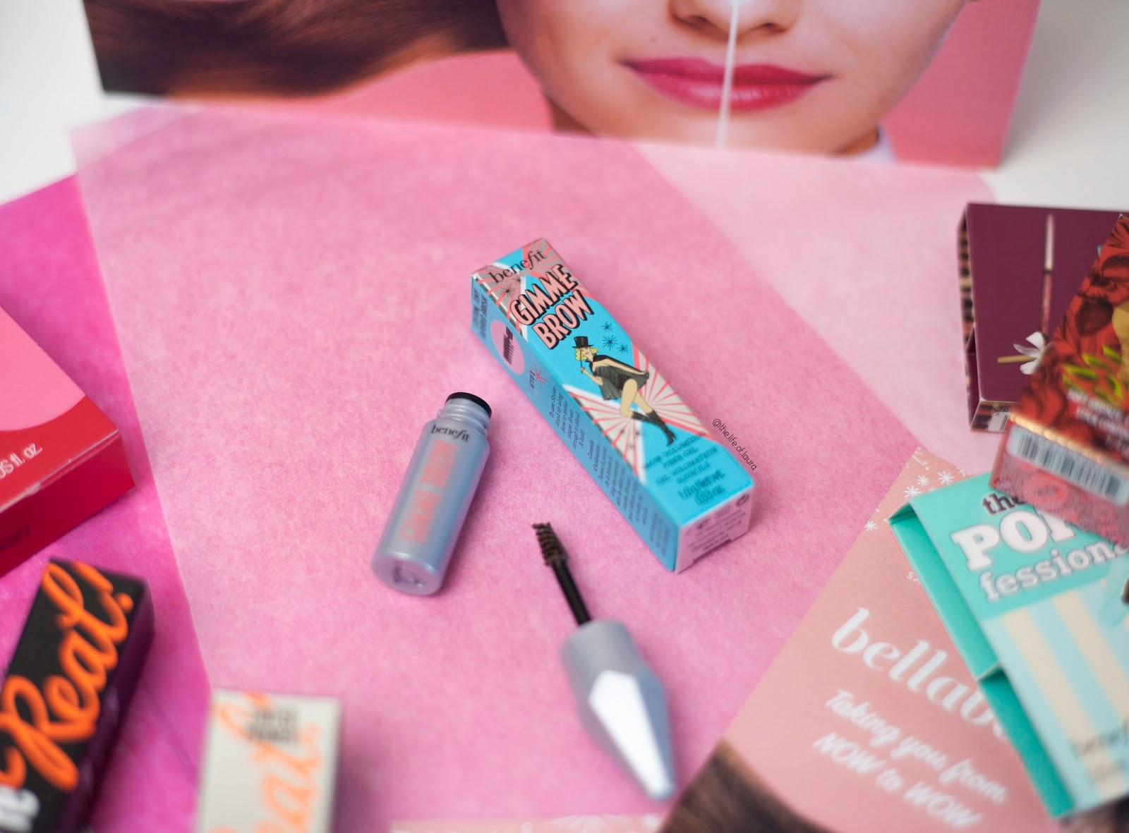 Bellabox x Benefit Gimme Brow
