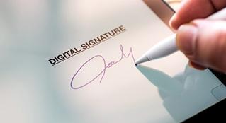 Chữ ký điện tử là gì ? Và những điều cần biết