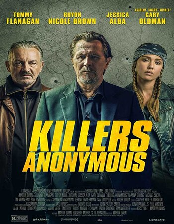Killers Anonymous (2019) English 720p HDRip x264 800MB ESubs Movie Download